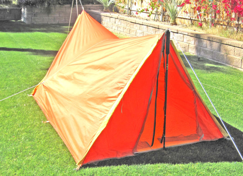 1960's REI A-frame Tent (front view)