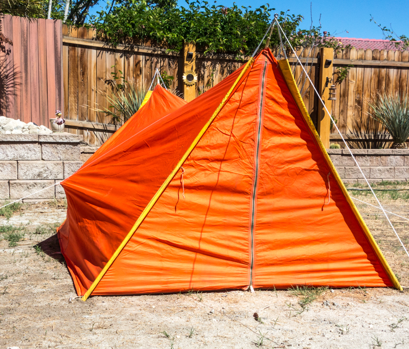1960's REI A-Frame Tent