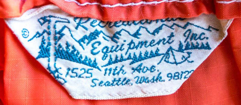 1960's REI Label in Tent Stuff Sack