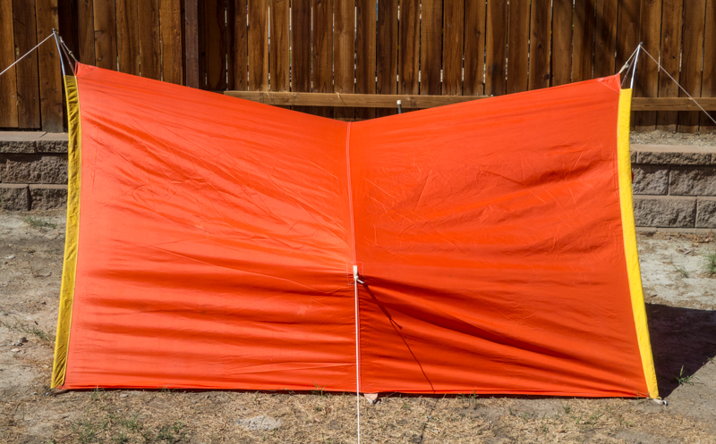 1960's REI A-frame Tent (side view)