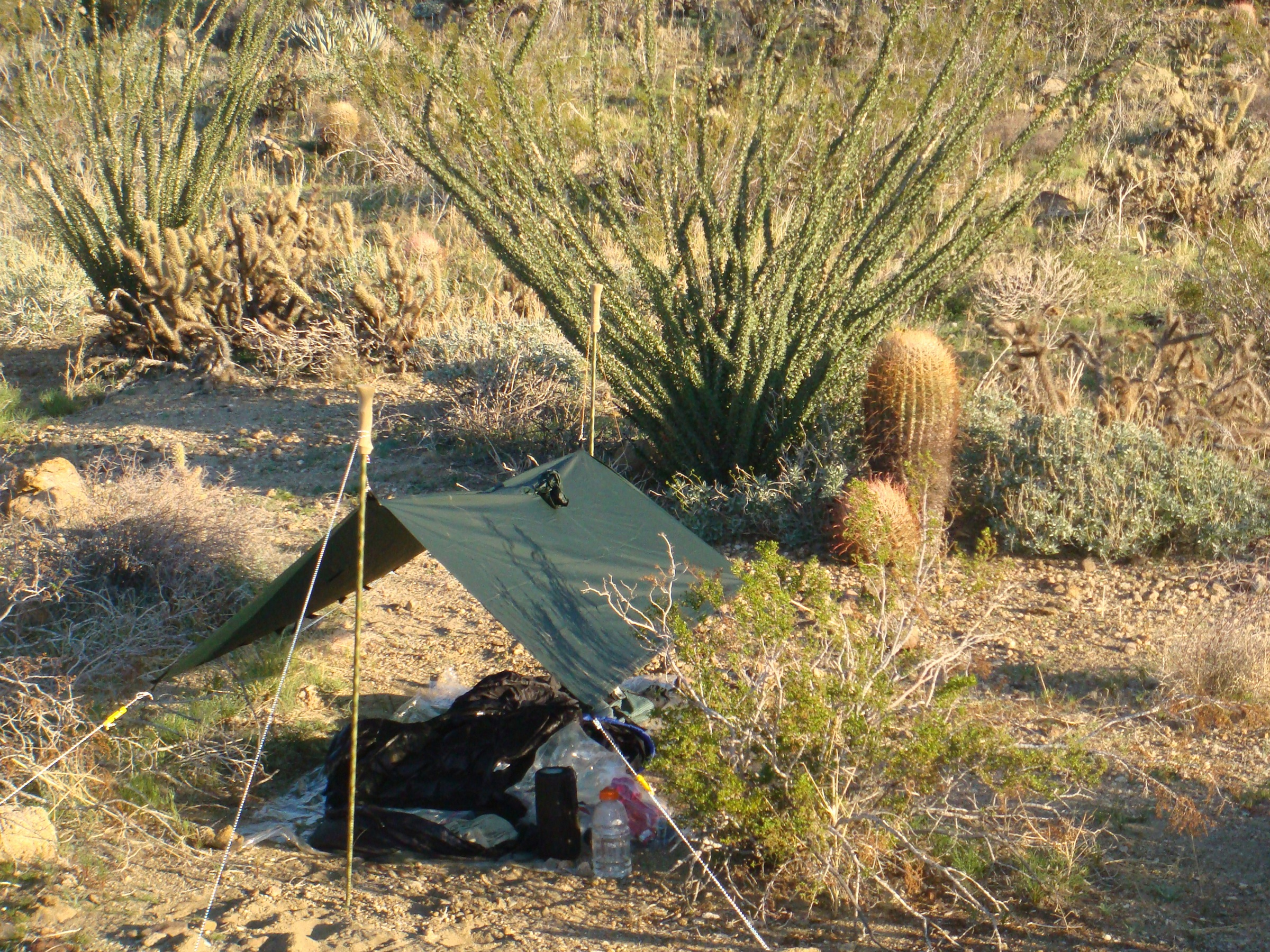 Golite Poncho Tarp 1 Popupbackpacker