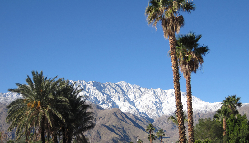 Mt San Jacinto from my house