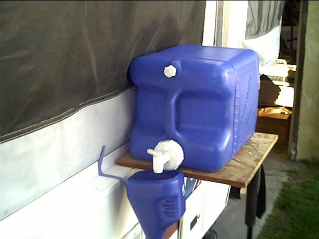 Fresh Water Transfer Methods Popupbackpacker