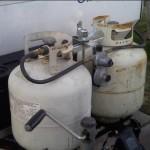 Tanks installed