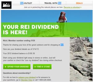 rei dividend notice