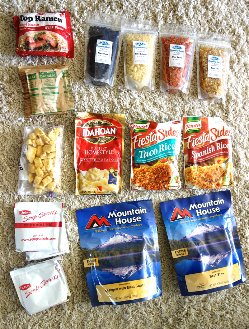 Source DSC00743 Smaller Instant Dehydrated And Freeze Dried Foods From My Backpacking Food