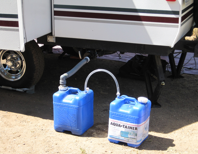 Gray Water Solutions For Your Camper Popupbackpacker