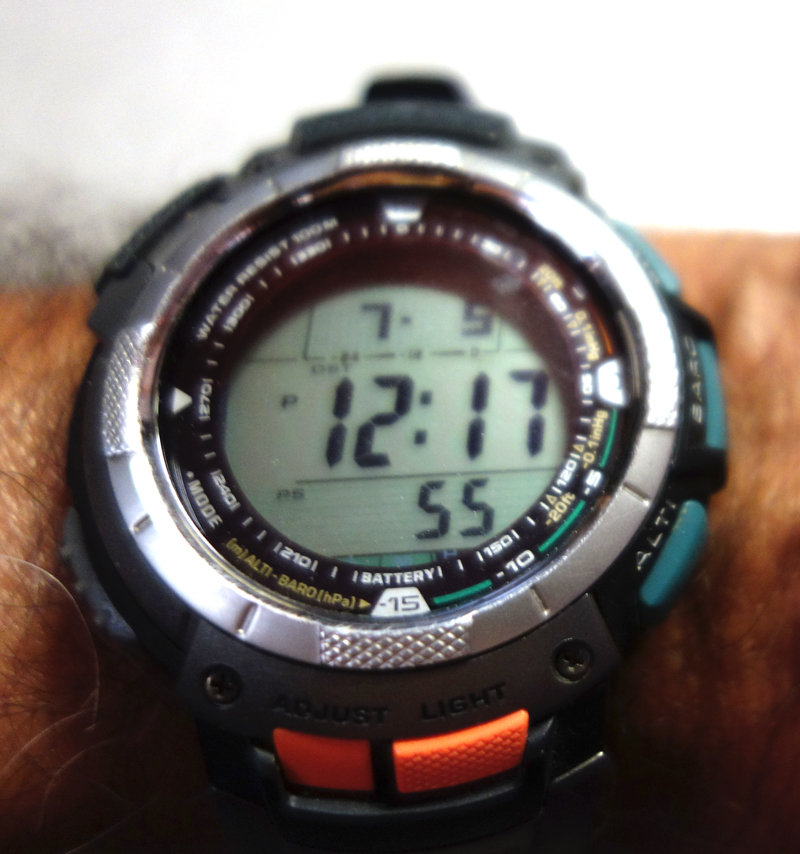 Many backpackers may like this (or similar watches).
