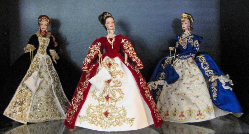 Faberge Porcelan Barbies