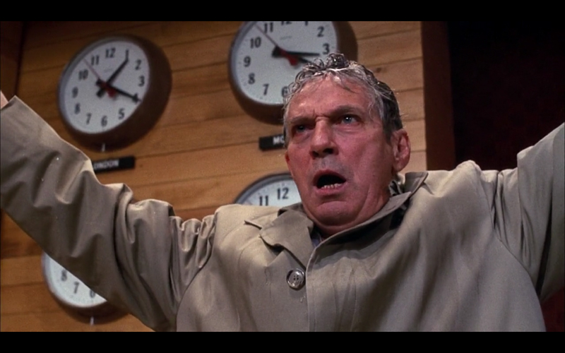 """I'm mad as Hell and I'm not going to take this anymore"" - Howard Beale (played by Peter Finch, from the movie Network)"