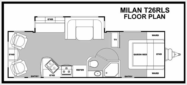 Milan Floor Plan