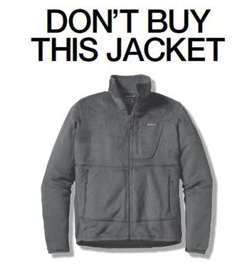 2013-12-14 Patagonia Don't Buy This Jacket
