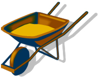 Clip Art - Wheelbarrow