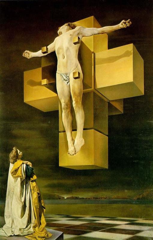 Corpus Hypercubus, by (Salvador Dalí