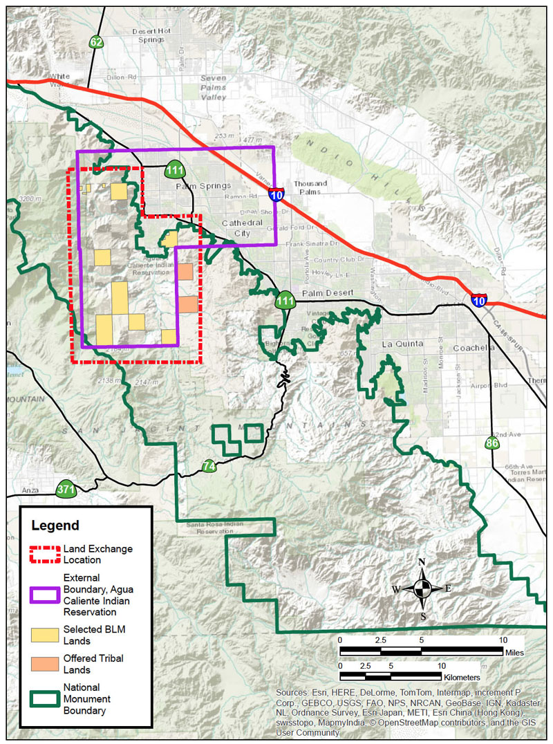 BLM Agua Caliente Land Swap