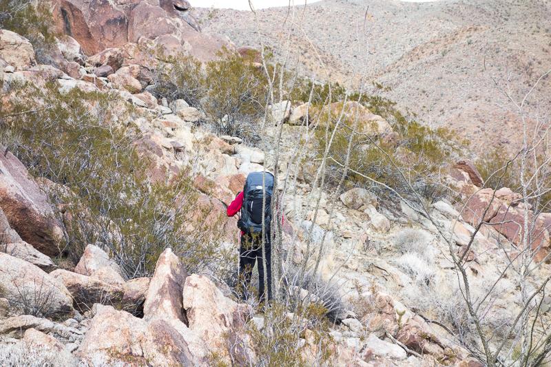 Anza Borrego Hill Climbing