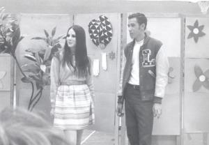 1968. I don't remember the occasion, but it was an assembly at high school when I was student body president.