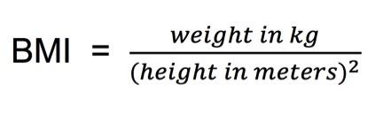 BMI Formula 1