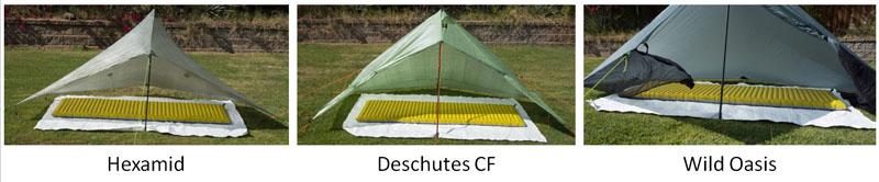 Deschutes comparison front