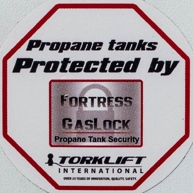 TorkLift Propane Lock