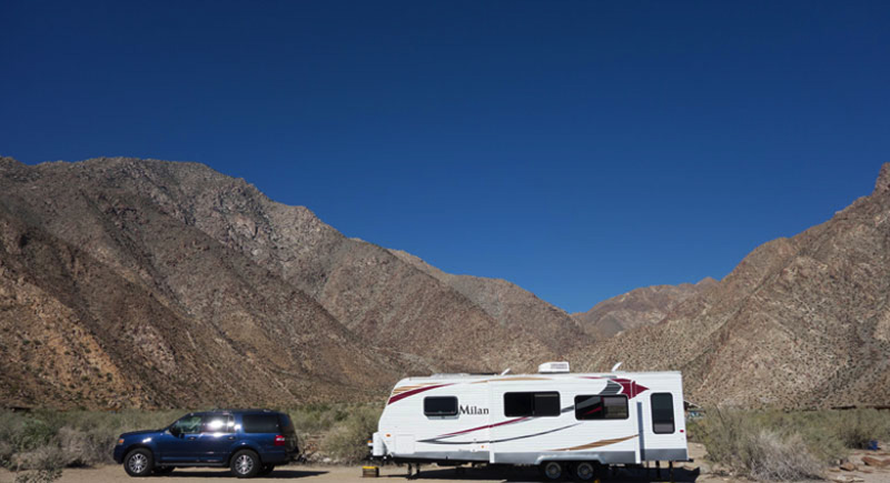 Anza Borrego State Park Camping Trip