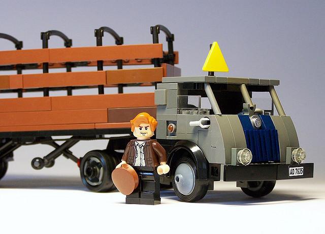 cargo trailer clip art