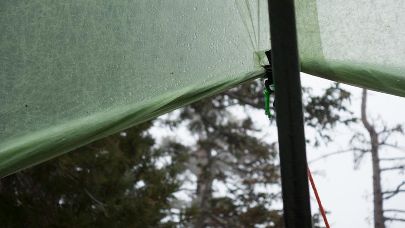 Deschutes CF Shelter in action