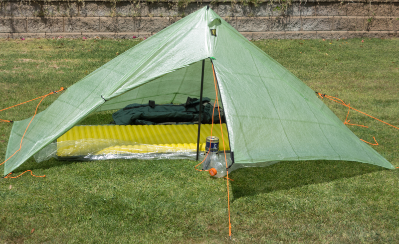 deschutes setup 8 & Six Moons Designs Deschutes CF Shelter | PopUpBackpacker