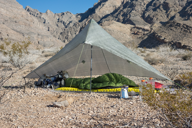zPacks Hexamid Shelter & zPacks Hexamid Shelter | PopUpBackpacker