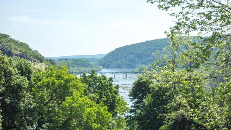 Potomac River near Harpers Ferry