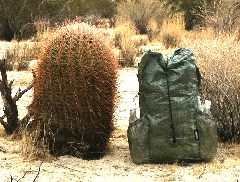 zPacks Zero frameless pack.