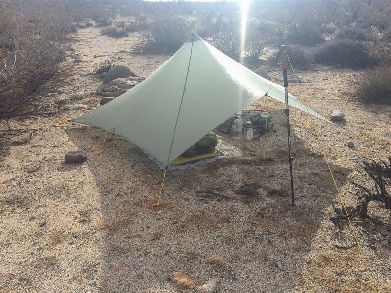 Mountain Laurel Cuben Fiber Trailstar Shelter