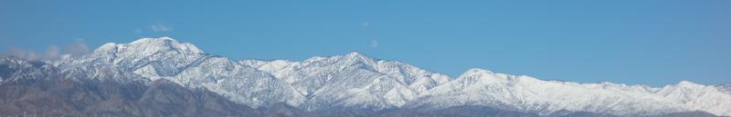 Mt San Gorgonio and the San Bernardino Mountains