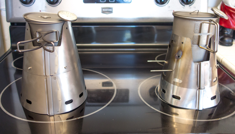 Trail Designs Fissure Ti Tri Stove System Other Stove Thoughts Popupbackpacker