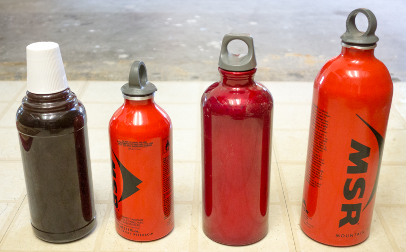 Revised liquid gas bottle inventory.