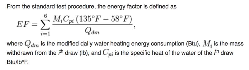 WH EF Formula