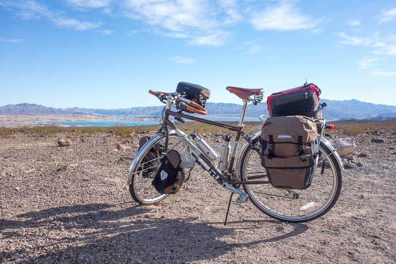 Bike Touring Lake Mead NRA
