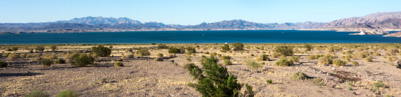 Lake Mead Shoreline View