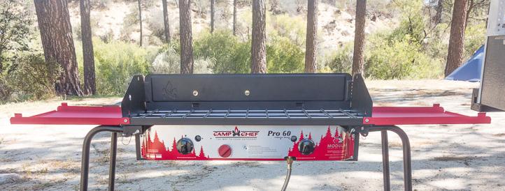 Camp Chef Pro 60 stove