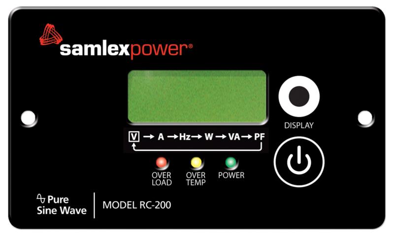 samlex-remote-panel